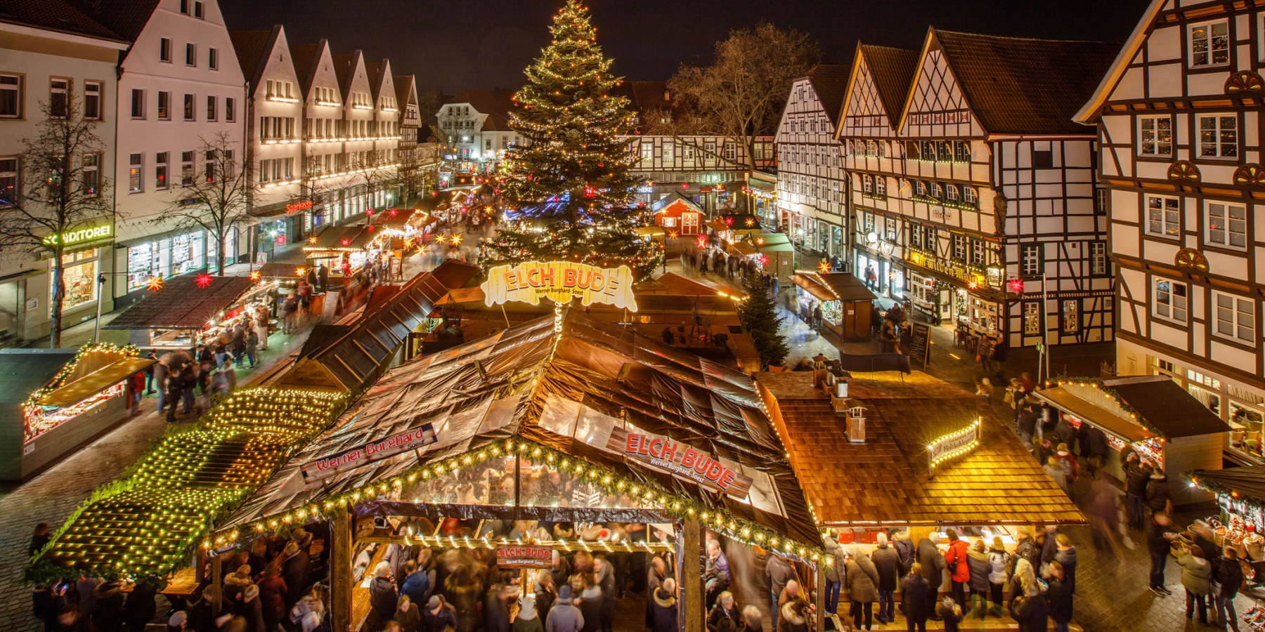 Weihnachtsmarkt Heiligabend.Zum Jahresende Präsentiert Sich Die Historische Soester Altstadt Im